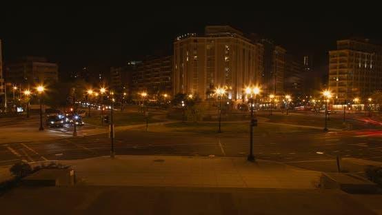 Thumbnail for Washington DC Circle At Night B