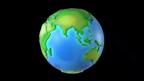 Thumbnail for Cartoon Green Healthy Earth Hd