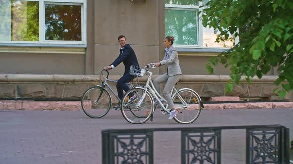 Cover Image for Biking to Office