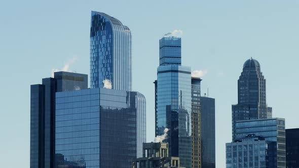 Thumbnail for City Buildings Business District Background