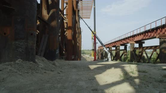 Thumbnail for Metal Structure on Construction Site