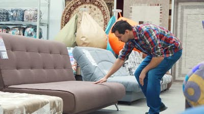 Guy in the Furniture Store