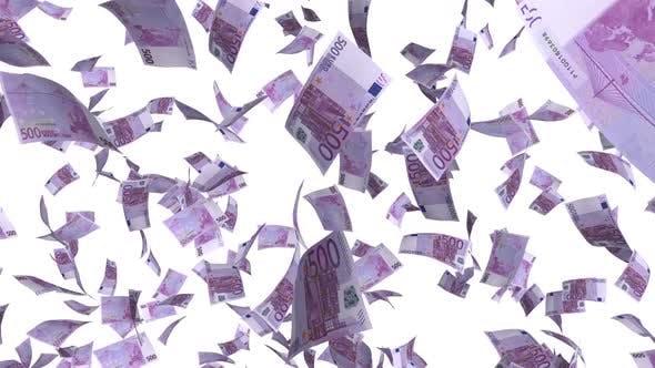 Thumbnail for Geldscheine Euro regnen