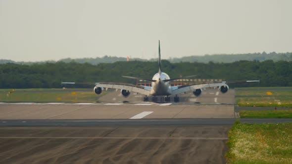 Thumbnail for Superjumbo Landing at Dusseldorf