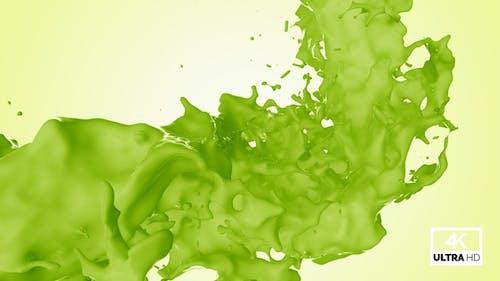 Twisted Kiwi Fruit Juice Splash V7