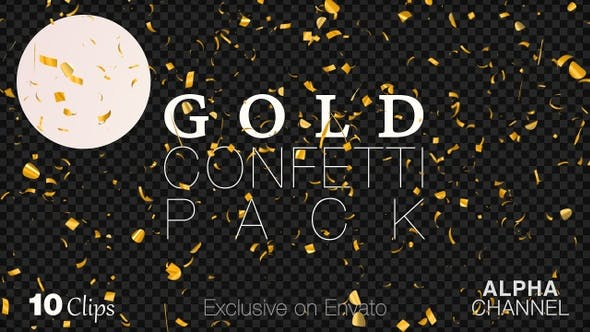 Thumbnail for Golden Confetti Happy New Year