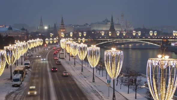 Thumbnail for Evening Hyper Lapse of Moscow Kremlin