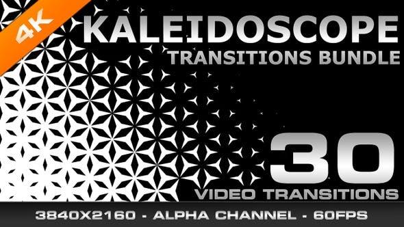 Thumbnail for Kaleidoscope Transitions Bundle 4K