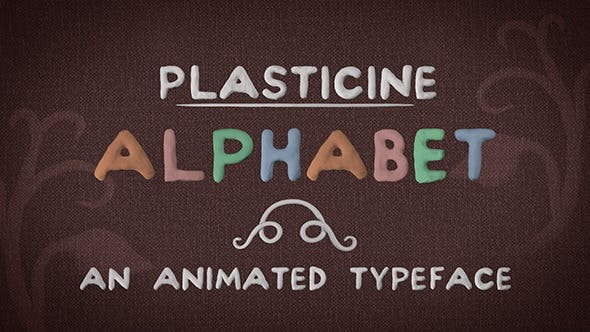 Thumbnail for Alphabet en pâte à modeler