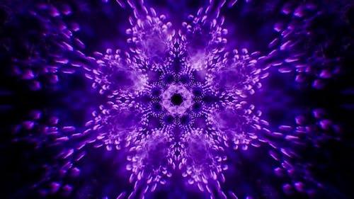 Fraktale Psychedelische Plasma-Hintergrundschleife 4K