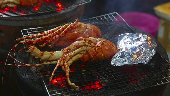 Thumbnail for Grilled Lobsters