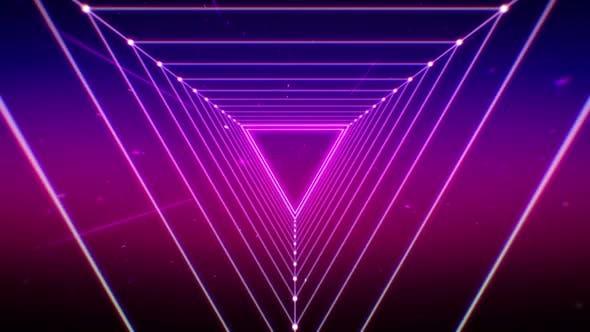 Thumbnail for Retro Futuristic Background