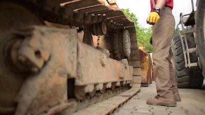 Heavy Equipment Mechanic and the Bulldozer.
