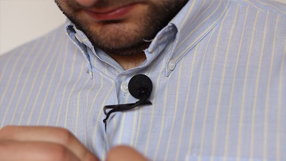 Thumbnail for Lavalier Microphone and Shirt