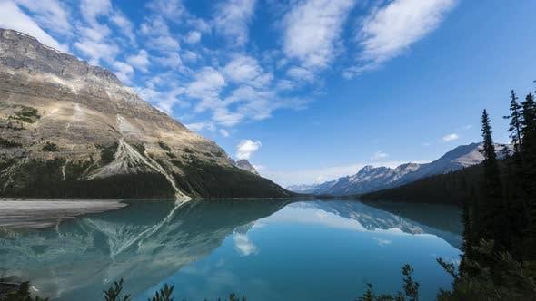 Thumbnail for Vibrant Blue Peyto Lake Time Lapse