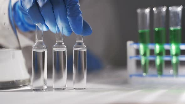 A Scientist Is Conducting a Study To Create a Vaccine for the New Coronavirus 2019-nCoV