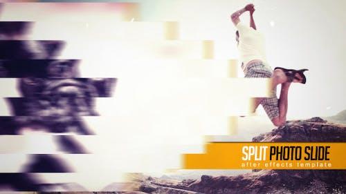 Split Photo Slide