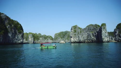Halong Bay Vietnam Uhd . Ha Long Tourist Travel Destination Landscape