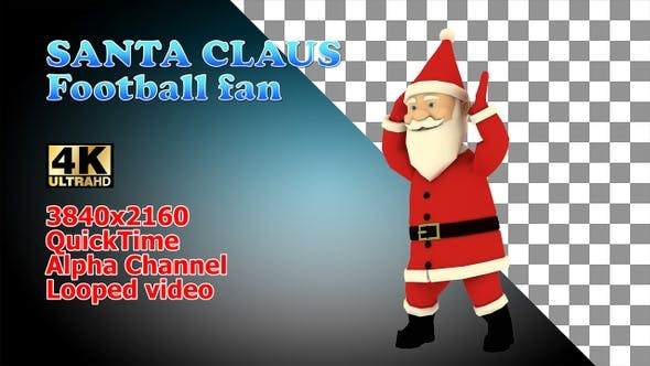 Thumbnail for Christmas Football Fan