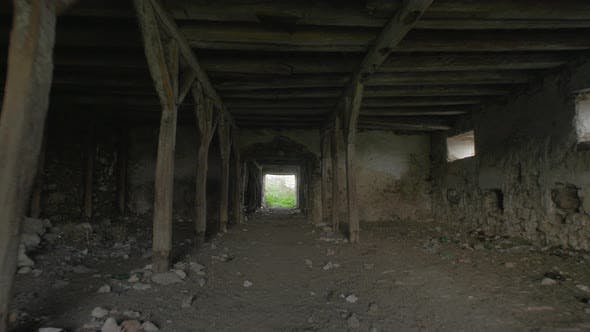 Thumbnail for Inside an abandoned building