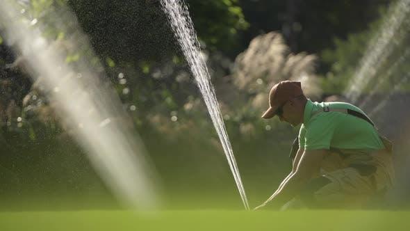 Garden Automatic Sprinklers