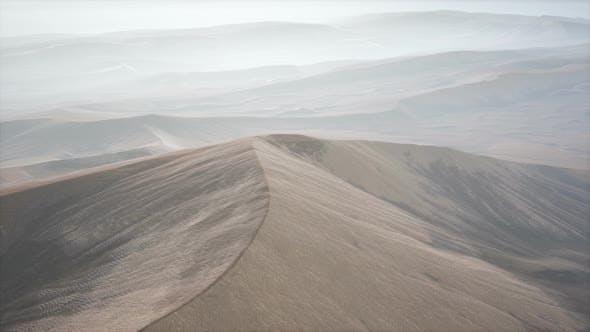 Thumbnail for Red Sand Desert Dunes in Fog