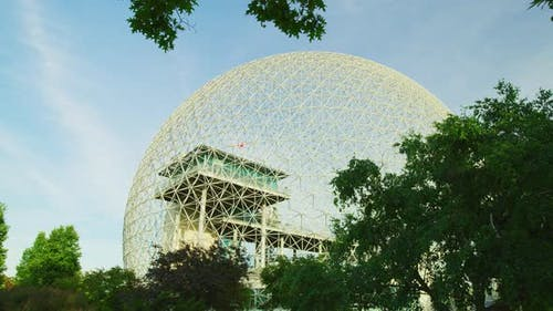 The Biosphere in Jean-Drapeau Park