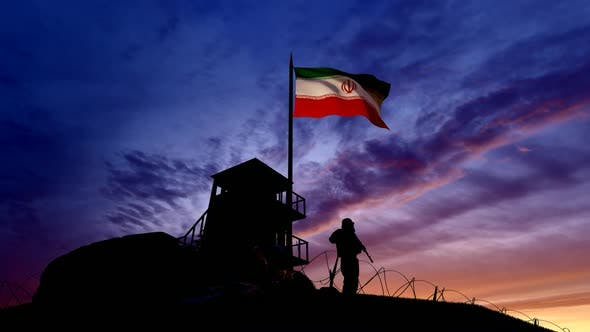 Thumbnail for Iranian Soldier On The Border At Night At The Border