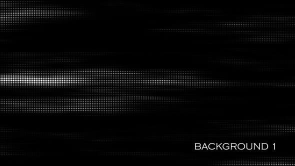 Looped Halftone Backgrounds Pack