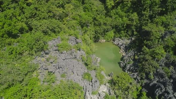 Thumbnail for Mountain Lake Tropical Island Matukad, Caramoan Islands, Camarines Sur, Philippines