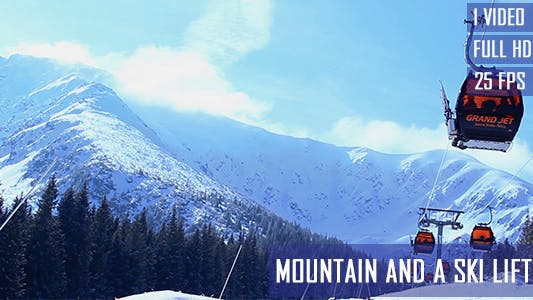Thumbnail for Mountain And A Ski Lifts