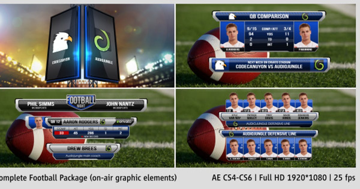Download Complete On-Air Football Package by PerryCox