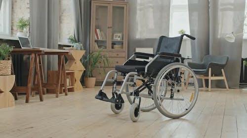 Wheelchair in Studio