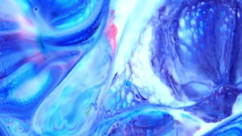 Abstract Paint Vertical Colorful Texture 7