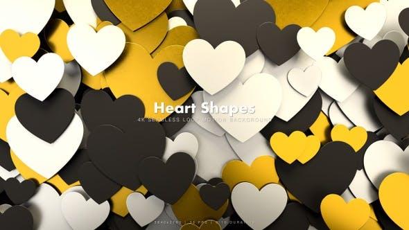 Thumbnail for Hearts Shapes Motion 37