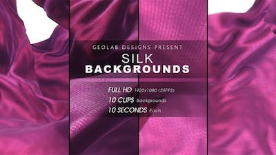 Silk Backgrounds l Smooth Cloth Backgrounds