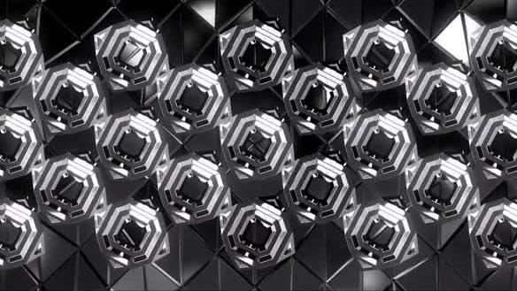 Quadratisch Chrom