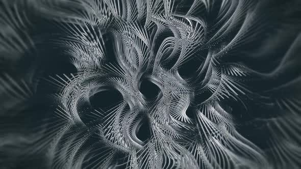 Dark Metal Abstract Background