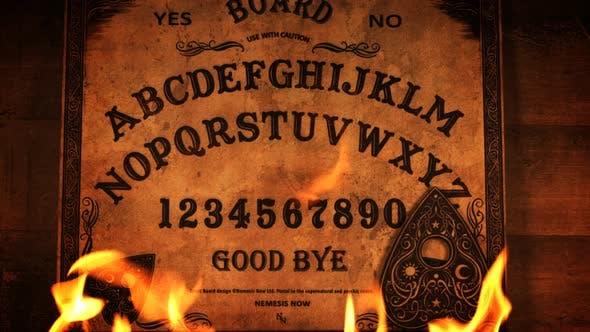 Thumbnail for Ouija Board On Flames
