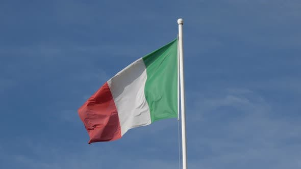 Thumbnail for Italy Flag in the Sky