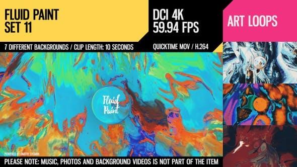 Fluid Paint (4K Set 11)