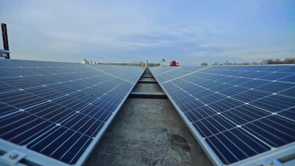 Thumbnail for Modern Solar Farm