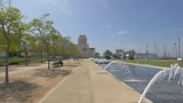 Thumbnail for Fountains in the Waterfront Park
