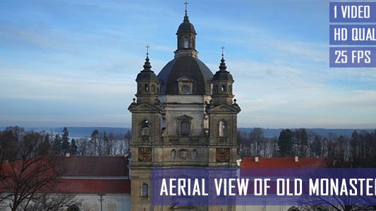 Thumbnail for Aerial View Of Old Monastery