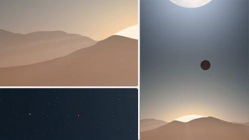 Flyby Animated Scene