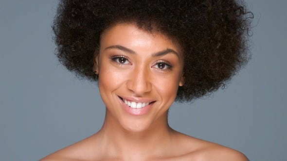 Thumbnail for Beautiful Woman With An Afro Hairstyle
