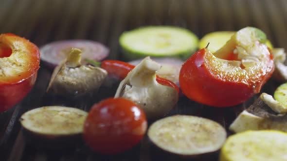 Frying Vegetables