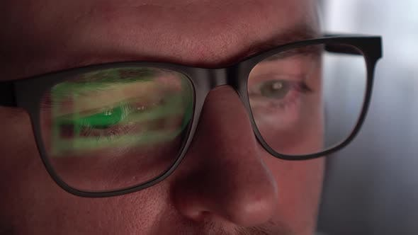 Surprised Look in Glasses