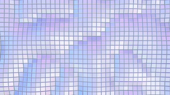 Thumbnail for Abstract Cubic Holographic Waving Surface Background
