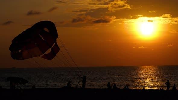 Thumbnail for Beautiful Sunset Over Ocean